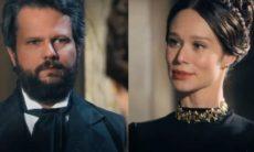 Pedro visita Luísa e se surpreende nesta segunda (16) em 'Nos Tempos do Imperador'
