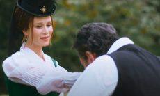 Luísa e Pedro se encantam um pelo outro nesta quarta (11) em 'Nos Tempos do Imperador'