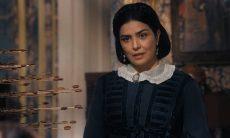 Thereza descobre que Luísa está com Pedro nesta quinta (19) em 'Nos Tempos do Imperador'