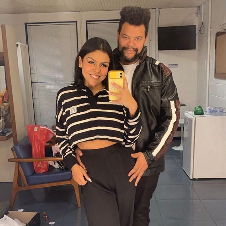 Namorada de Babu Santana diz que não torcia por ele no BBB. Foto: Reprodução Instagram