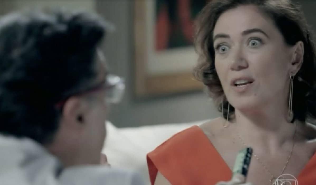 Marta começa sua entrevista com Téo nesta quarta (15) em 'Império'