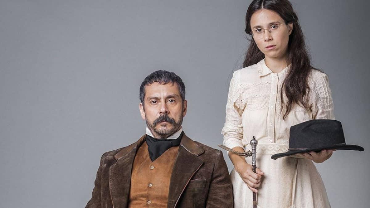 Tonico manipula Dolores contra Pilar nesta segunda (13) em 'Nos Tempos do Imperador'