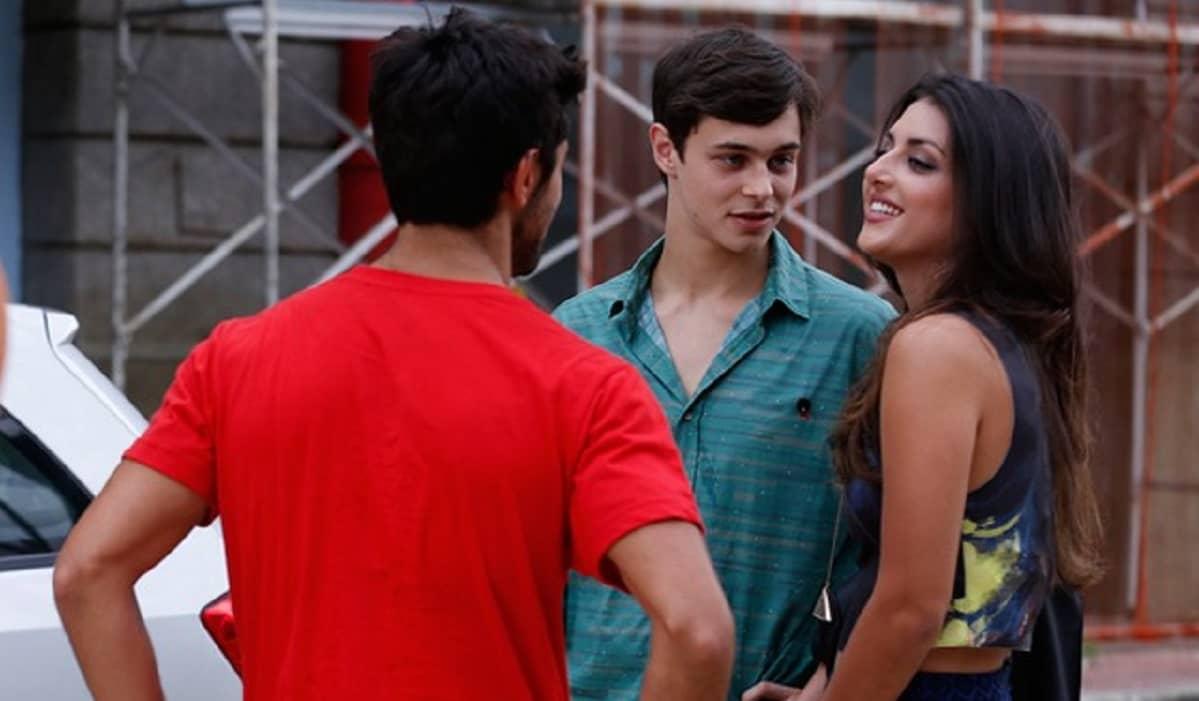 Cobra sente ciúmes de Jade com Henrique nesta terça (14) em 'Malhação: Sonhos'