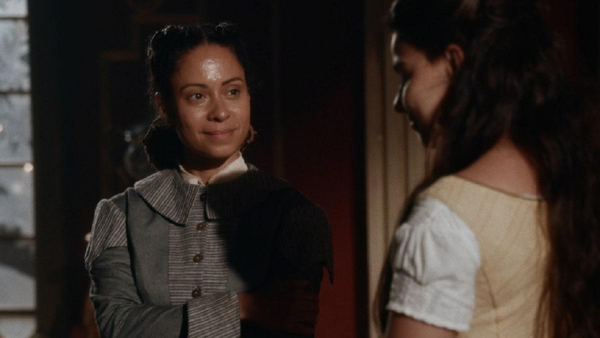 Justina diz a Pilar que Samuel ainda a ama neste sábado (25) em 'Nos Tempos do Imperador''