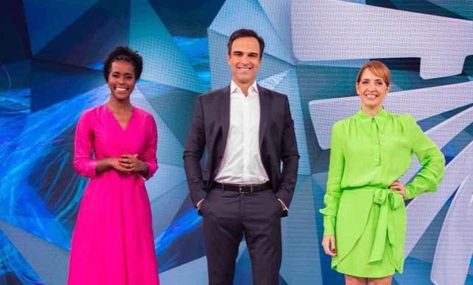 Maju Coutinho e César Tralli comentam mudanças na TV Globo. Foto: Reprodução Instagram