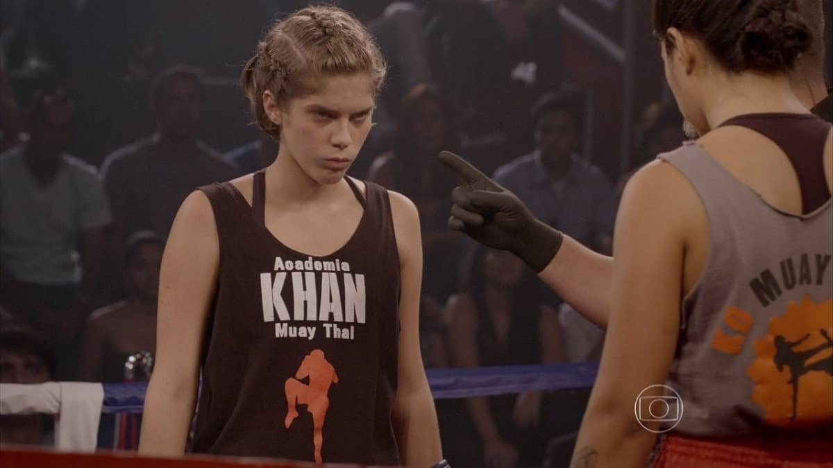 Karina vence luta, mas Gael não vê nesta segunda (11) em 'Malhação: Sonhos'