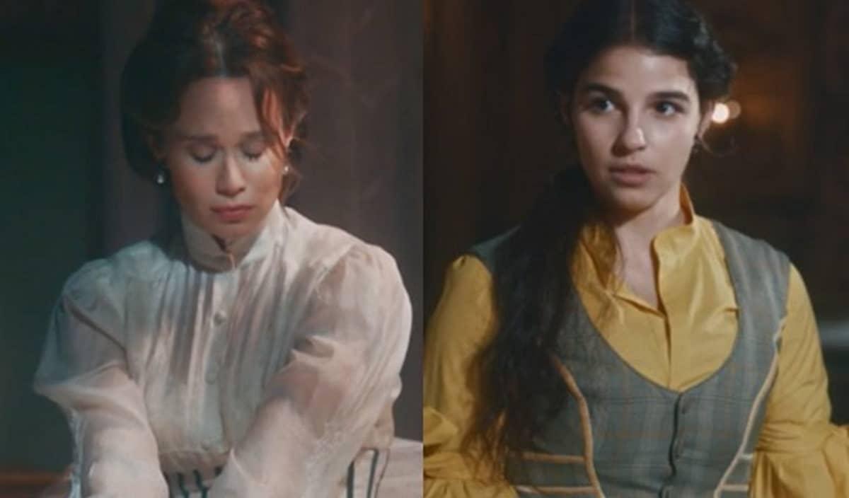 Luísa perde bebê mas é salva por Pilar nesta terça (5) em 'Nos Tempos do Imperador'