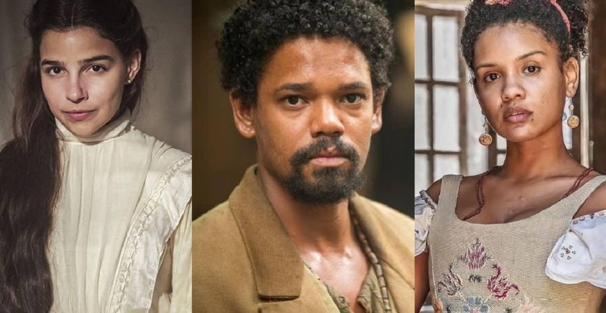 Samuel confessa a Zayla que ama Pilar nesta quarta (13) em 'Nos Tempos do Imperador'